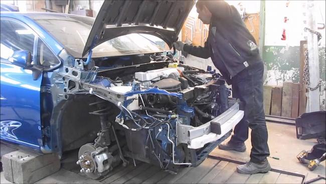 Фото примера ремонта Тойоты