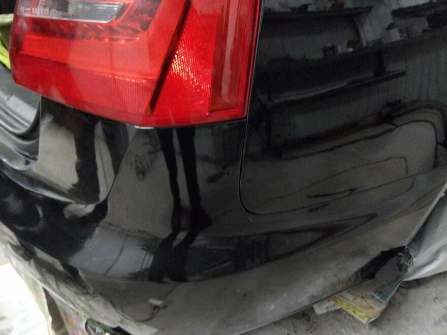 фото ауди после кузовного ремонта