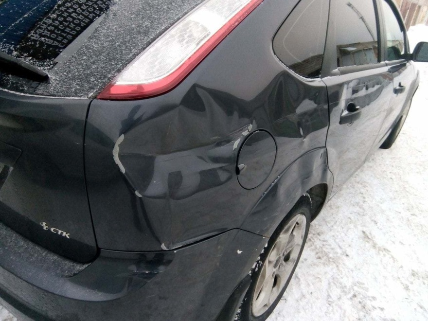фото форд до ремонта