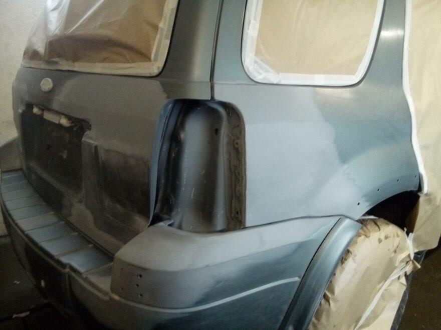 фото форд во время кузовного ремонта