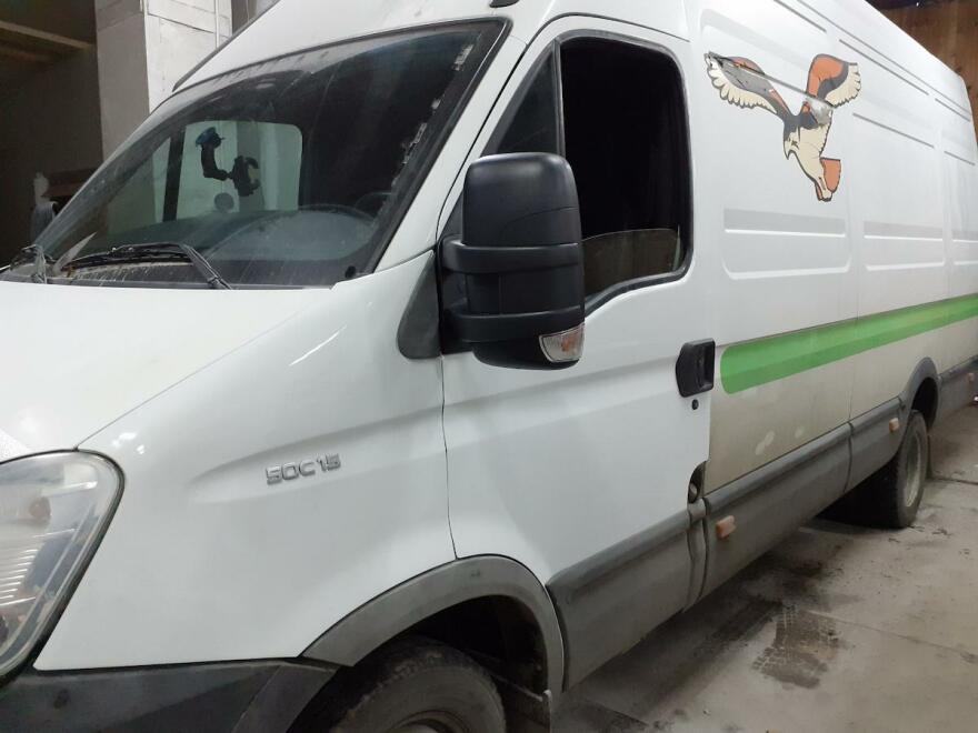 фото Iveco после кузовного ремонта